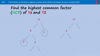 LCM and HCF (Lowest Common Multiple and Highest Common Factor)
