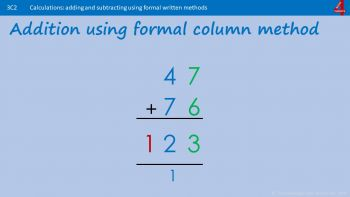 C2 - How to Add and Subtract using Written Methods