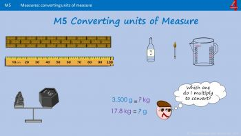 Ma5 How to Convert Different Units of Measure