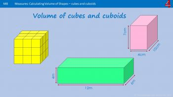 Ma8 - How to Calculate Volume of Shapes