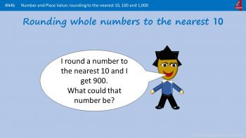 N4b - How to Round Whole Numbers (Integers)