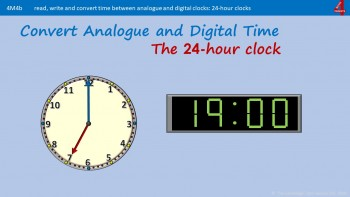 Mb4b Converting Analogue, Digital, 12-hour and 24-hour Clocks
