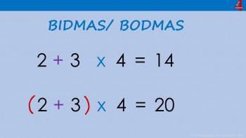 BIDMAS/ BODMAS more challenging